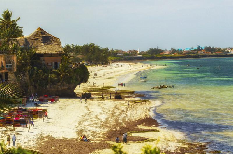 Bijzondere stranden in Kenia