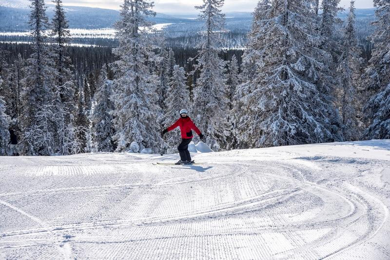 De beste skigebieden van Lapland