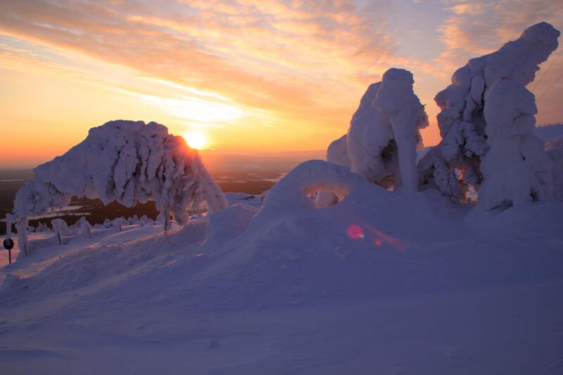 skigebieden in Lapland