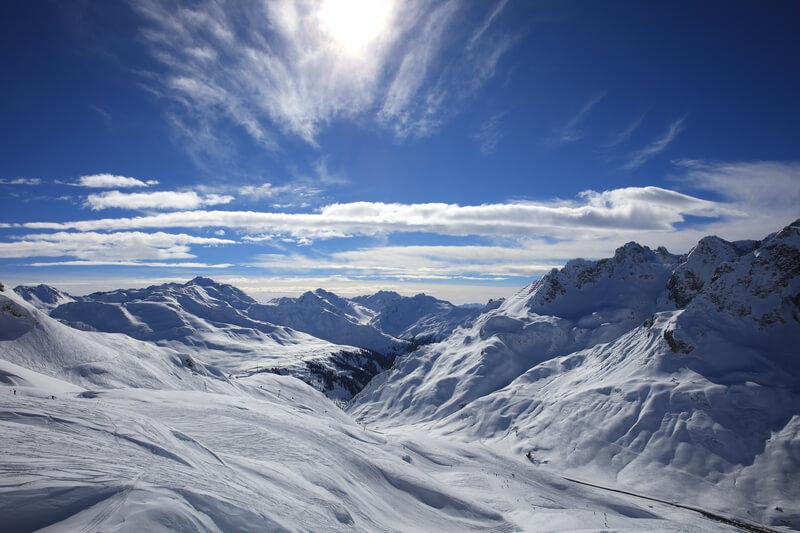 Grootste wintersportgebieden van Oostenrijk