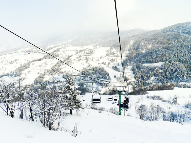 het grootste skigebied van Italië