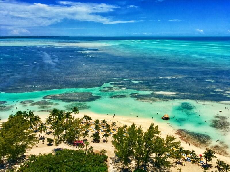 mooiste bezienswaardigheden van de bahamas