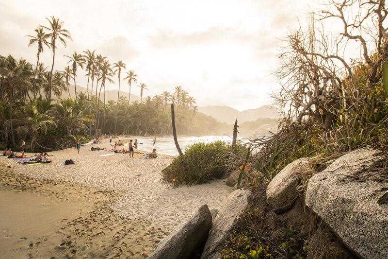 mooiste strand van colombia