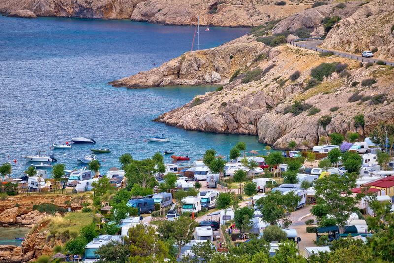 tips voor als je gaat kamperen in Kroatië