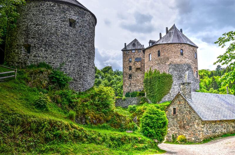 schitterende kastelen in België