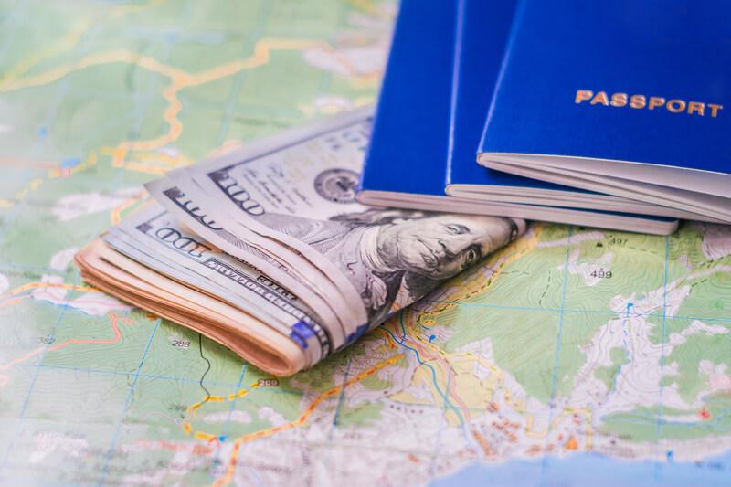 geld op vakantie