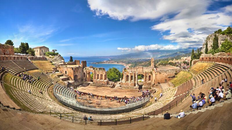 amfitheater sicilie