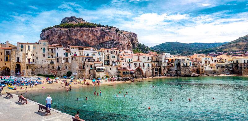 zwemmen in sicilie