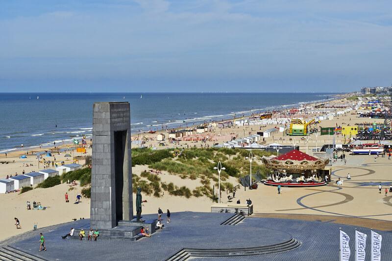 mooiste stranden van Belgie De Panne