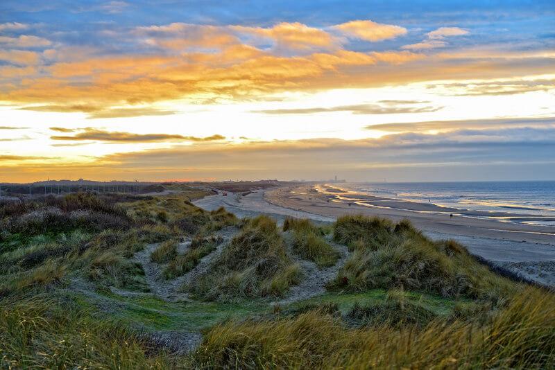 mooiste stranden van Belgie Wenduine