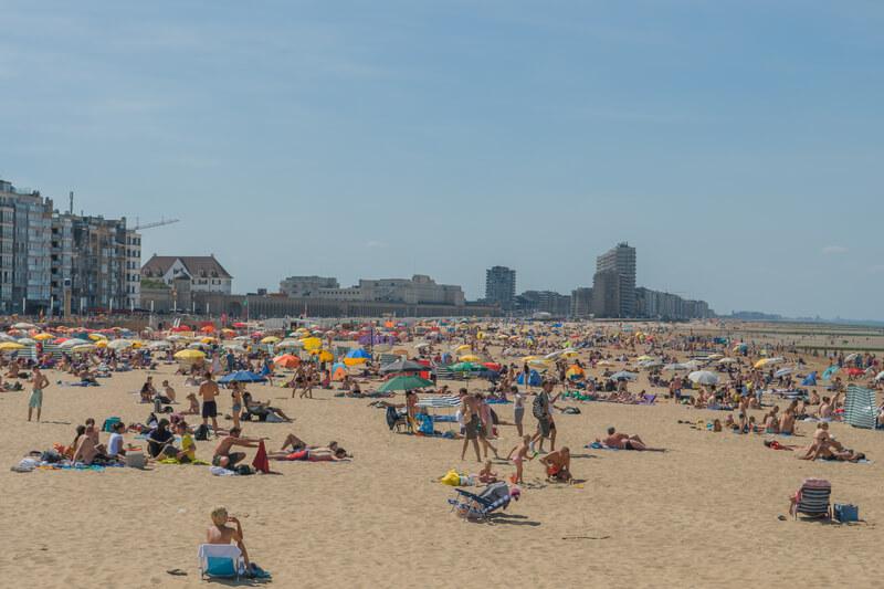 mooiste stranden van belgie oostende