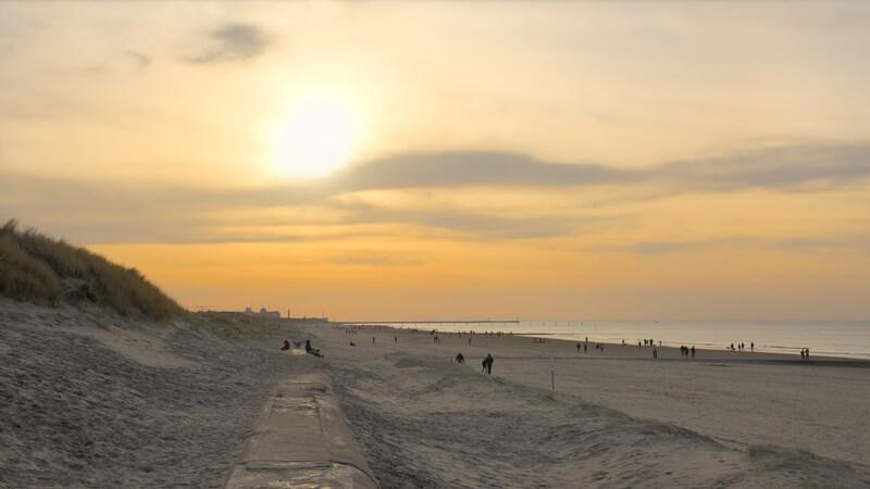 mooiste stranden van belgie westende